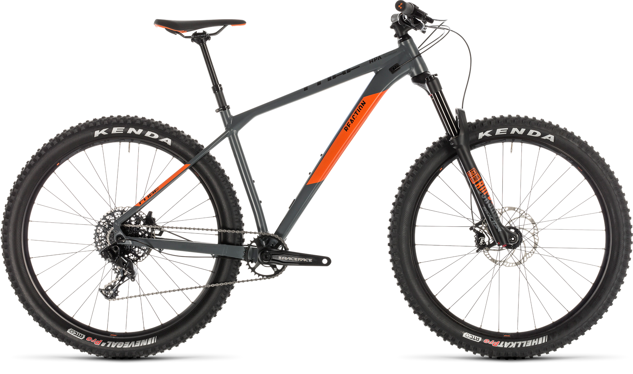 2019 Cube Reaction TM Pro Hardtail Mountain Bike in Grey £