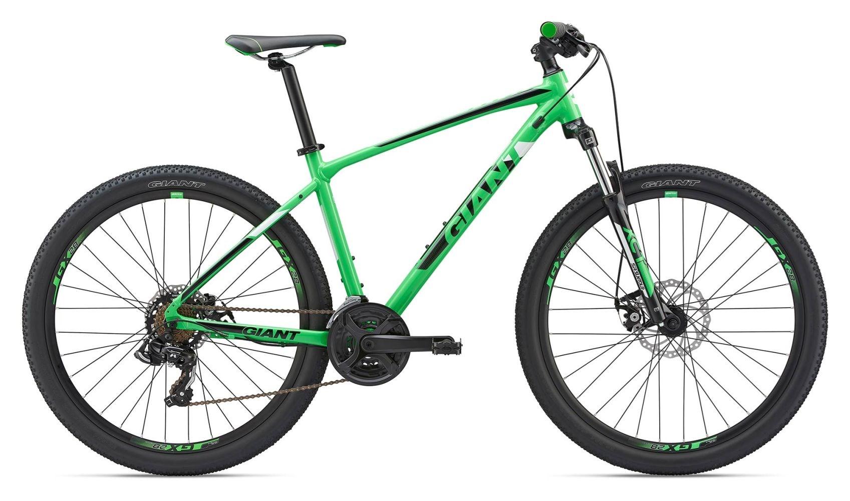 2019 Giant ATX 2 26 Mens Hardtail Mountain Bike in Green