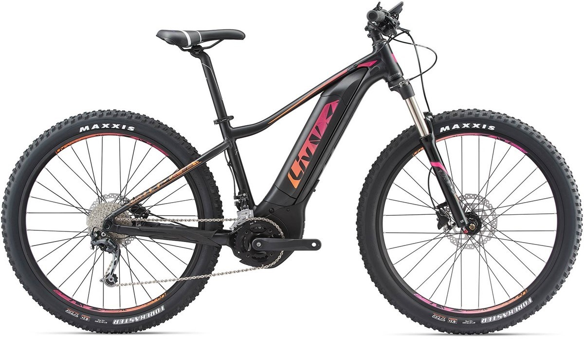 2018 LIV VALL-E+2 LADIES E BIKE BLACK