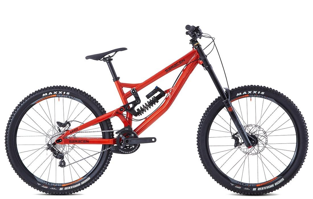 aabef337739 2019 Saracen Myst AL unisex full suspension mountain bike £2,339.99